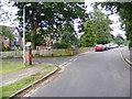 TG1906 : Colney Lane, Cringleford & Gurney Lane George VI Postbox by Adrian Cable