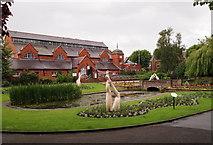 SK5319 : Loughborough, Leics (Queen's Pk) by David Hallam-Jones
