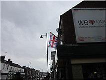 TA0831 : Upside down Union Flag #42 by Ian S