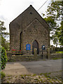 SD6523 : United Reformed Church, Tockholes (East Wall) by David Dixon