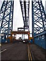 NZ5021 : Middlesbrough Transporter Bridge by Martin Speck