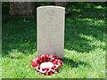 TQ8611 : War Grave in St Andrews Churchyard Fairlight by PAUL FARMER