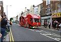 SZ1191 : Boscombe, motorcade (2) by Mike Faherty