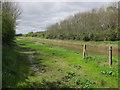 TL7180 : Footpath along Cut-off Channel by Hugh Venables