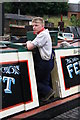 SO9491 : Black Country Living Museum - vintage boatman by Chris Allen