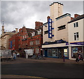 SK5319 : Loughborough, Leics (Cattle Market Area) by David Hallam-Jones