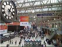 TQ3179 : Waterloo station: concourse gallery development by David Martin