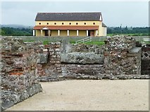 SJ5608 : Roman town house, Viroconium / Wroxeter by Christine Johnstone