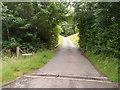 SO3012 : Private road into Coldbrook Park near Abergavenny by Jaggery