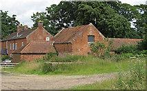 TM4899 : Ashby Hall Farm buildings by Roger Jones