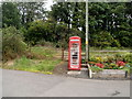 SO3309 : New use for an old phone box, The Bryn by Jaggery
