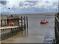 SD3448 : Slipway, Knott End Ferry by David Dixon