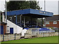 TQ0367 : Chertsey Town F.C. by Colin Smith