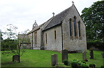 SP1726 : Upper Swell church by Philip Halling