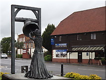 TQ0566 : Blanche Heriot Statue by Colin Smith