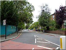 TQ3473 : Dulwich:  Underhill Road by Dr Neil Clifton