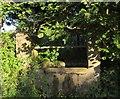 SX8854 : Drinking trough by John Musgrave Heritage Trail by Derek Harper