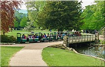 SK0573 : Buxton Miniature Railway by Mr Eugene Birchall