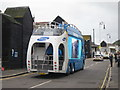 TQ8209 : Promotional lorry, Day 61 Olympic Torch Relay by Oast House Archive