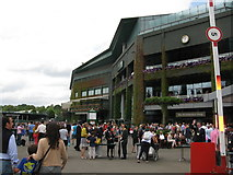 TQ2472 : Wimbledon Centre Court by G Laird