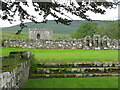 NY4995 : Hermitage Castle from the Chapel graveyard by M J Richardson