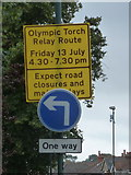 SZ0894 : Ensbury Park: Olympic delays expected by Chris Downer