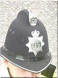 SZ0894 : Ensbury Park: a Dorset Police helmet by Chris Downer