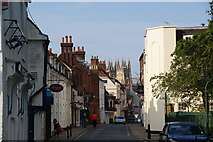 TR1457 : Castle Street, Canterbury by Bill Boaden