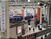 TQ3179 : Platforms 17-20 at London Waterloo by David Martin