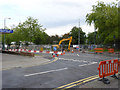 SK5534 : Net Phase 2 works, Lanthwaite Road by Alan Murray-Rust