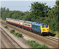 ST2681 : Railtour at Marshfield by Gareth James