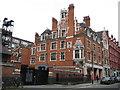 TQ2881 : Marylebone: Former Manchester Square Fire Brigade Station, W1 by Nigel Cox
