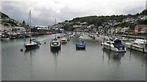 SX2553 : Looking Down the River at Looe by Ian Knight