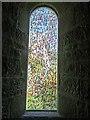NZ0158 : New window in St John's Church, Healey by Oliver Dixon