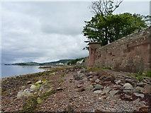 NS2055 : Sea wall by James Allan