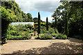 TQ3499 : Garden, Capel Manor, Bulls Cross, Enfield by Christine Matthews