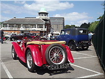 TQ0762 : Vintage Car at Brooklands by Colin Smith