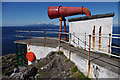 NM4167 : Fog horn, Point of Ardnamurchan by Ian Taylor