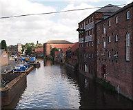 SK7953 : Newark, Notts (Newark Basin) by David Hallam-Jones