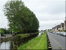 N3325 : Grand Canal from Clontarf Road, Tullamore, Co. Offaly by JP