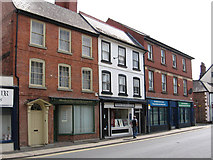 SO5139 : Hereford - shops on St Owens Street by Dave Bevis