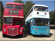TQ0762 : Vintage Buses by Colin Smith