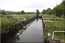 SU5266 : In Monkey Marsh Lock by Bill Nicholls