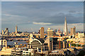 TQ3080 : Sunlit view of London from New Zealand High Commission by Christine Matthews
