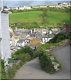 SW9980 : Roscarrock Hill, Port Isaac by Ian Knight