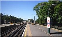 TQ0893 : Metropolitan Line, Moor Park Station by Des Blenkinsopp