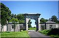 TQ0792 : Gateway to Moor Park by Des Blenkinsopp