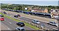 J3775 : Newry train, Sydenham station, Belfast by Albert Bridge