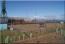 NS3075 : Inchgreen Dry Dock and Great Harbour by Thomas Nugent