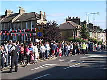 TQ4077 : Torch relay: anticipation by Stephen Craven